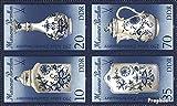 Prophila Collection DDR 3241II-3244II Viererblock (kompl.Ausgabe) 1989 Meissner Porzellan (Briefmarken für Sammler) Glas / Keramik / Porzellan