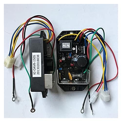 XIAOJIE WUJIE Regulador de Voltaje automático monofásico AVR para Kipor KI-DAVR-150S 50HZ 15KVA
