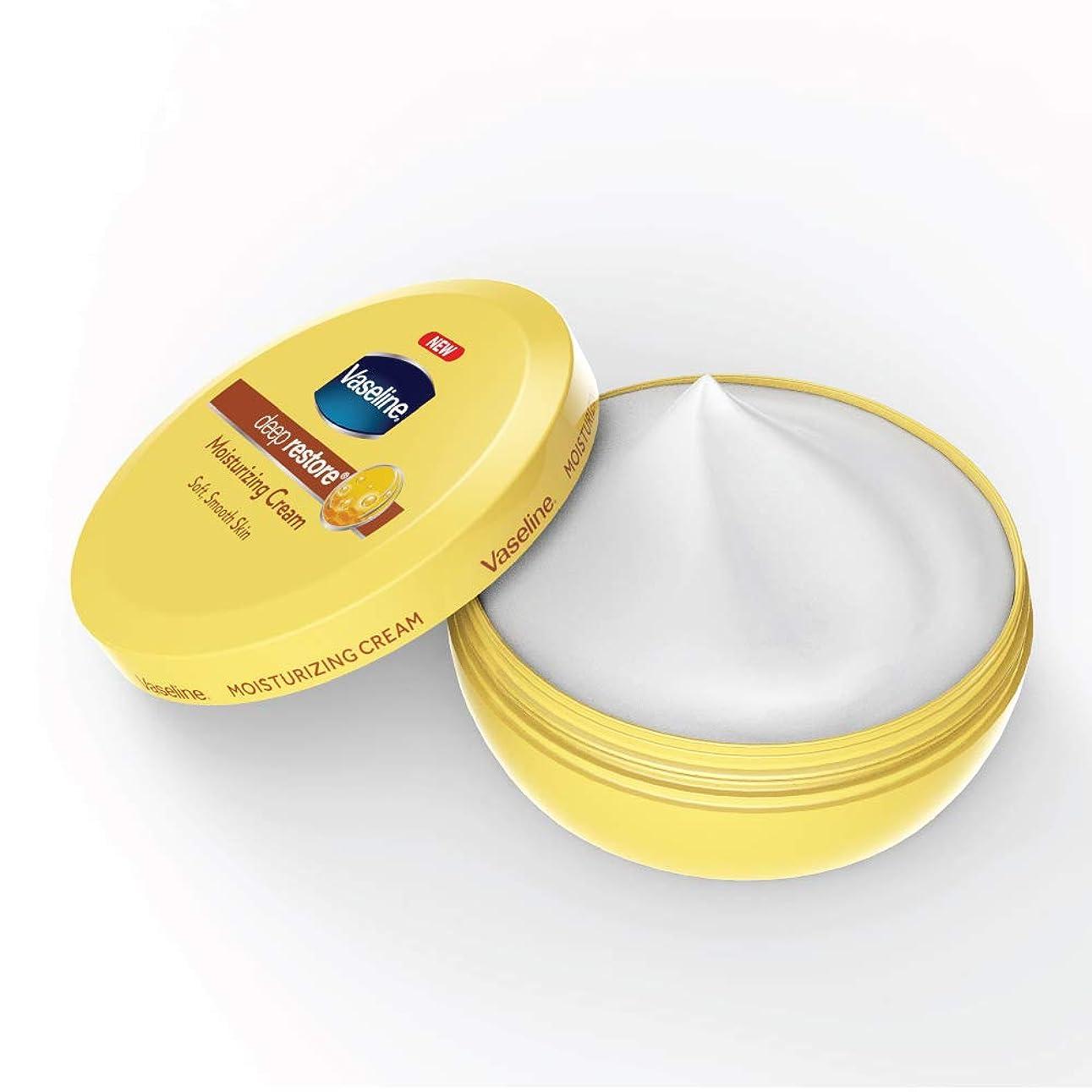 悪化する養う前にVaseline Deep Restore Body Cream, 150ml