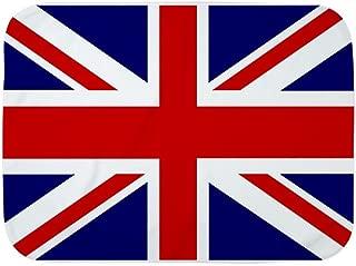 Royal Lion Baby Blanket White British English Flag HD