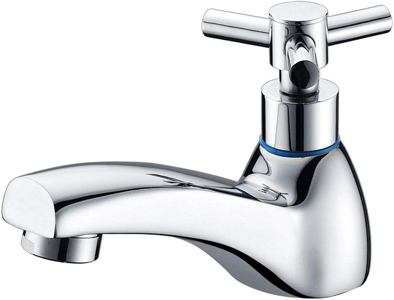 CHX Single Hole Basin Faucet Single Cold Single Hot Water Faucet Copper Faucet CHXSF