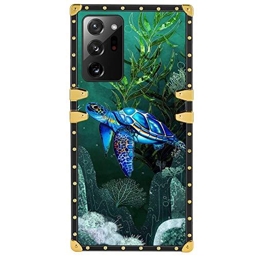 FAUNOW Square Luxury - Carcasa rígida para Samsung Galaxy Note 20 Ultra 5G (poliuretano termoplástico)