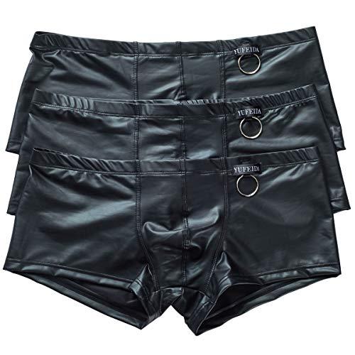 Herren Stringtanga Unterwäsche Sexy Tief sitzende Unterhosen 3er-Pack Gr. X-Large, 3-Pack Boxers 2