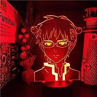 アニメ山k ledナイトライトクリエイティブスマートカラー変更テーブルランプベッドルーム装飾ナイトライト常夜灯-接する