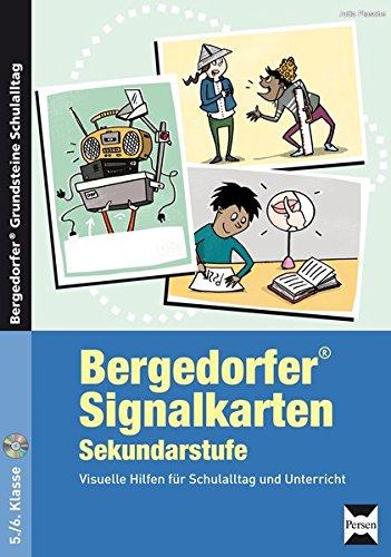 Bergedorfer Signalkarten - Sekundarstufe: Visuelle Hilfen für Schulalltag und Unterricht (5. und 6. Klasse) (Bergedorfer® Grundsteine Schulalltag)