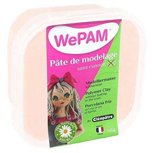 WePAM - PFW474-145 - Pasta de porcelana fría, 145 gramos, color piel