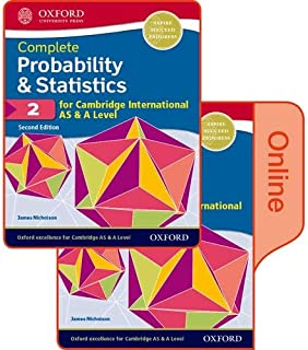 Probability & Statistics 2 for Cambridge International AS & A Level: Print & Online Student Book Pack