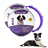 Banydoll Calming Collar for Dogs, Adjustable Waterproof Safe Pheromone Calm Collars, Anxiety Relief & Anti Stress Dog Collars with 60 Days Long Lasting Calming Effect for Large Middle and Small Dogs