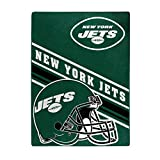 NFL New York Jets 'Slant' Raschel Throw Blanket, 60' x 80'