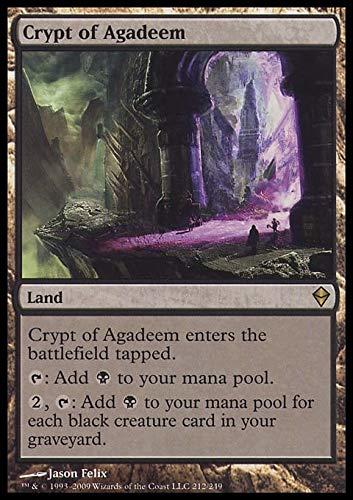 Magic: the Gathering - Crypt of Agadeem (212) - Zendikar
