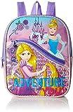 Disney Girls' Princess 10 Mini Backpack with Front Pocket, Pink