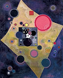 Accent en Rose 1926 Wassily Kandinsky Abstract Contemporary Print Poster 11x14
