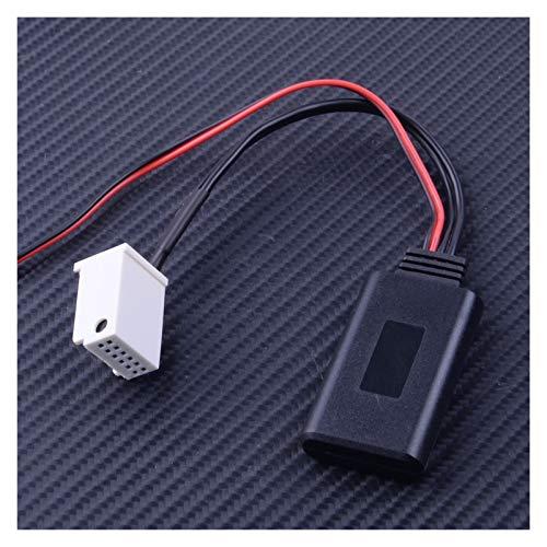 YYBLOVE YUYANGBIN Cable Adaptador AUX Bluetooth de 12 Pines Fit para Mercedes Benz W169 W245 W203 W209 R230 W221 W251 W164 x164