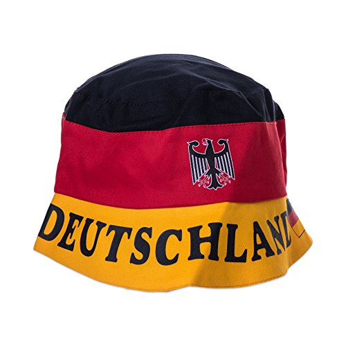 Deutschland - Sonnenhut - Anglerhut Hut Sonnen-Hut Mütze