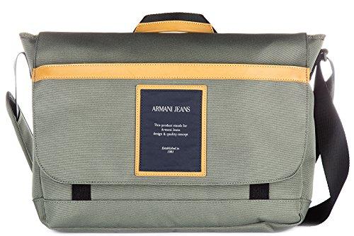 Armani Jeans Handgelenktasche Handtasche Herren Tasche Schultertasche Grün