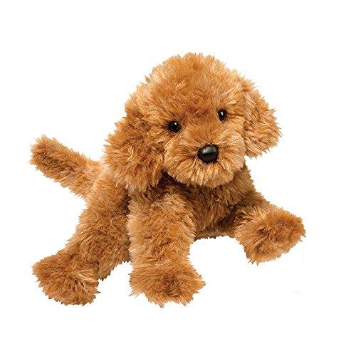 Douglas Addie Caramel Labradoodle Dog Plush Stuffed Animal