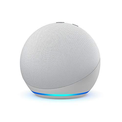 Echo Dot (4ª generazione) - Altoparlante intelligente con Alexa - Bianco ghiaccio
