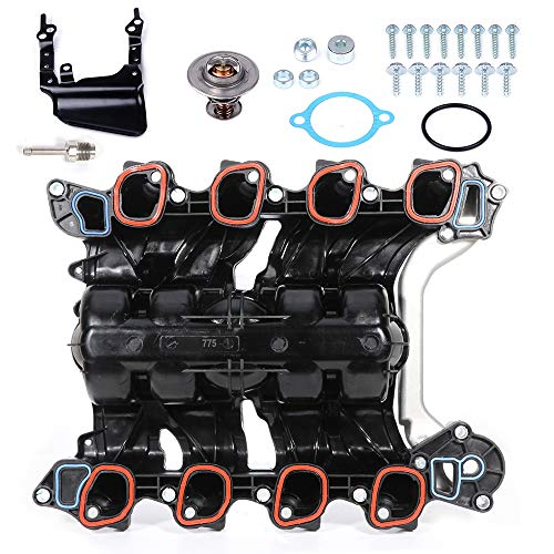 SCITOO 615-775 Intake Manifold Kit Fit For Ford Explorer 4.0L V6 2002-2005 For Ford Explorer 4.6L V8 2002-2005 For Mercury Mountaineer 4.0L V6 2002-2005 For Mercury Mountaineer 4.6L V8 2002-2005