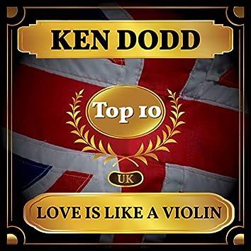 Love Is Like a Violin (UK Chart Top 40 - No. 8)
