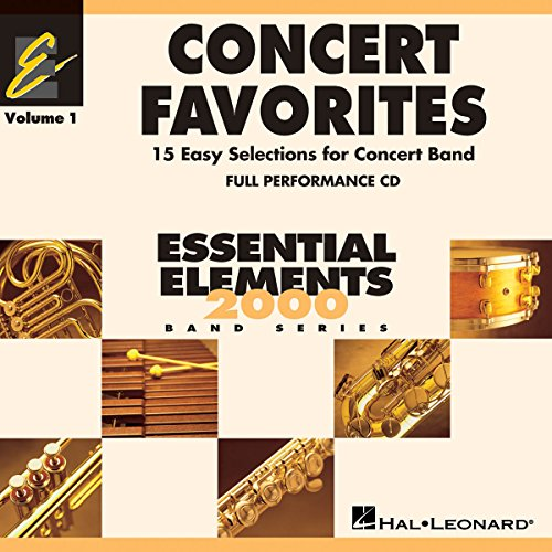 Concert Favorites Vol. 1 - CD - Blasorchester - CD