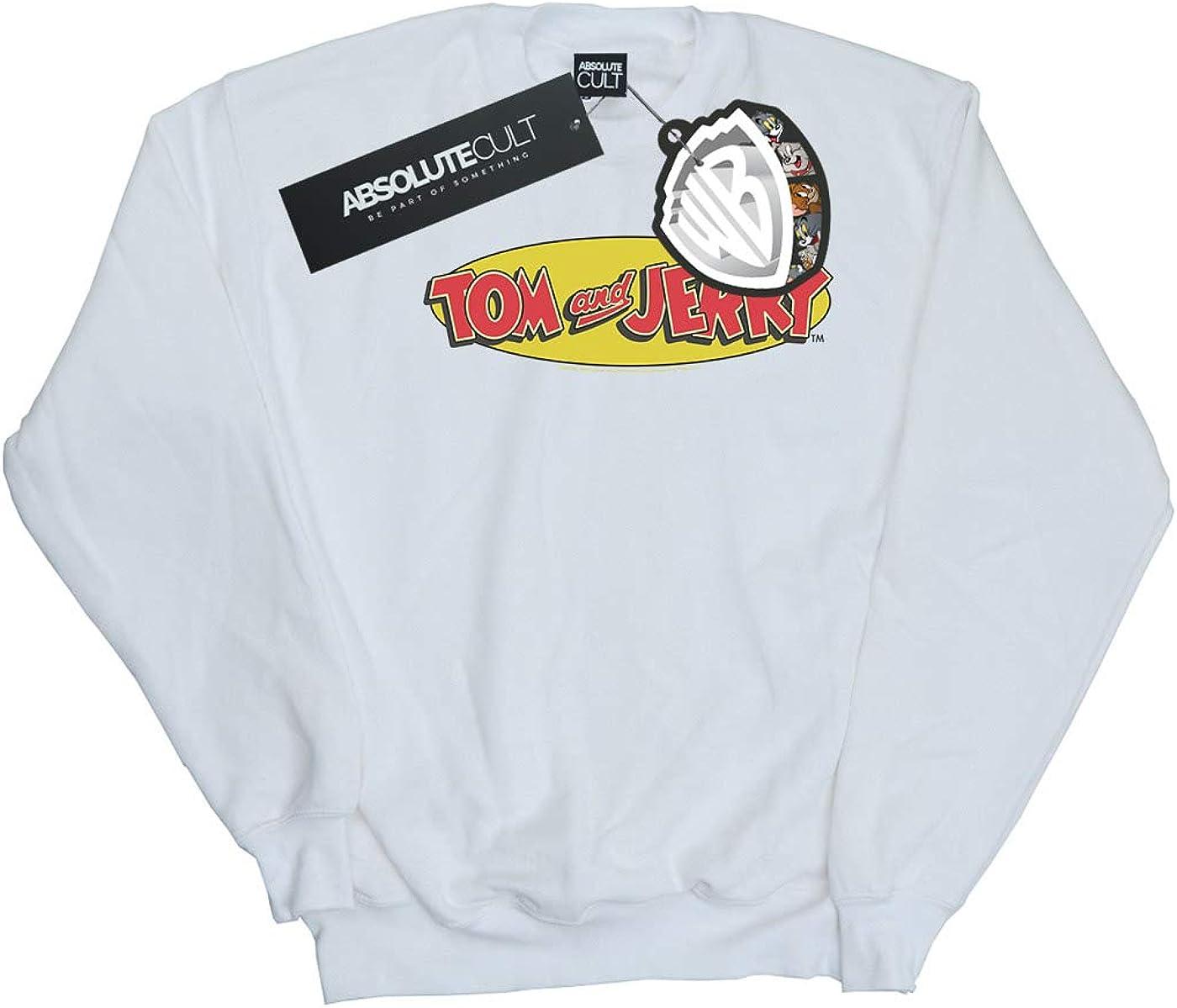 Tom and Jerry Girls Inline Logo Sweatshirt