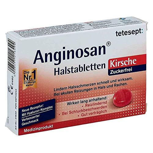 Tetesept Anginosan Halstabletten zuckerfrei Kirsch (20 stk)