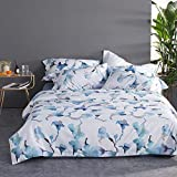 WXYNT Absorbente De Humedad Wicking Respirable 4-Pieza Bed Sheet Set,Sedoso Easy Care Cozy Hoja Plana,Algodón Largo Egipcio Suave Ropa De Cama