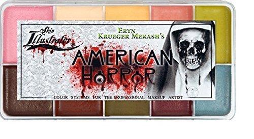 PPI Skin Illustrator American Horror Makeup Palette by Skin Illustrator