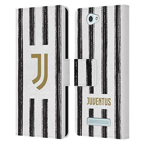 Head Hülle Designs Offizielle Juventus Football Club Home 2020/21 Match Kit Leder Brieftaschen Huelle kompatibel mit Wileyfox Spark/Plus