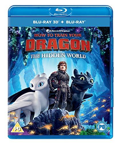 How to Train Your Dragon - The Hidden World (Blu-ray + 3D Blu-ray + Digital Download) [2019] [Region Free]