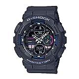 Ladies' Casio G-Shock S-Series Grey Resin Band Watch GMAS140-8A