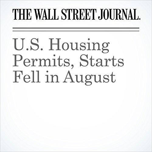 U.S. Housing Permits, Starts Fell in August cover art