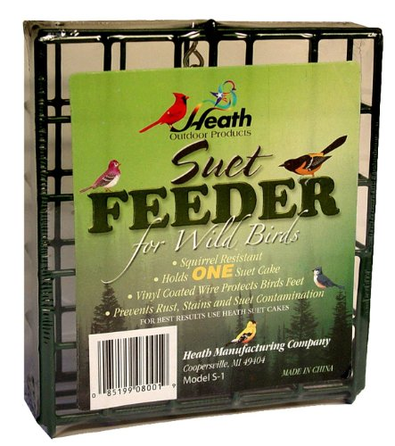 Heath Outdoor Products S-1-8 Single Hanging Suet...