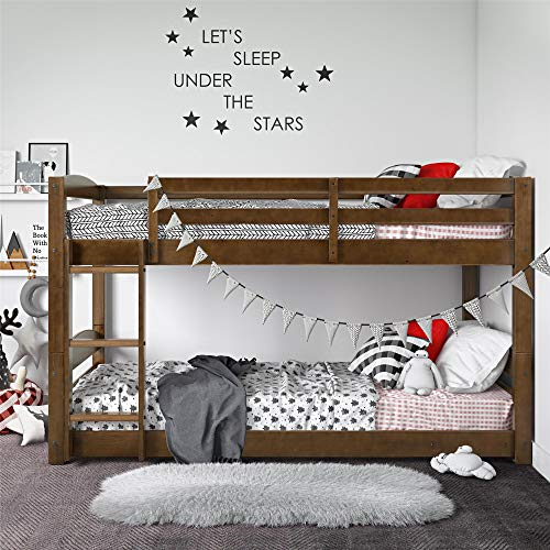 Dorel Living Phoenix Bed, Mocha Twin Bunk, Twin over Twin