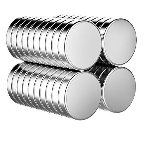 íman,imanes nevera imanes pequeños imanes neodimio imanes potentes 10*3mm N52 Magnético con una Caja de Almacenamiento para Refrigerador, Tablón de Anuncios,...