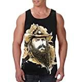 Photo de Chris Stapleton Mens T-Shirts Hommes Summer Sleeveless Tank Tops Casual Graphic Vest Shirts par