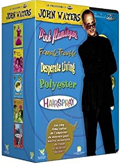 Coffret John Waters 4 DVD : Pink Flamingos / Desperate living / Female trouble / Polyester - Hairspray