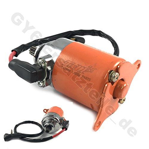 HIGH PERFORMANCE ANLASSER STARTER MOTOR für 4-TAKT 152QMI / 157QMJ / GY6 MOTOR 125/150cc z.B.für BAOTIAN BENZHOU YIYING HYOSUNG KREIDLER ZNEN KYMCO REX RS CHINA ROLLER