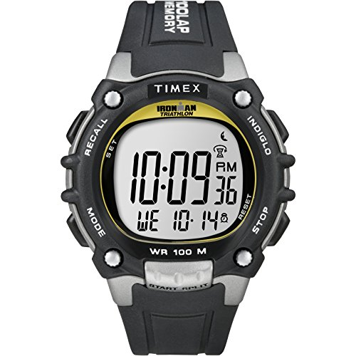 TIMEX Ironman Classic 100 Digital Men's Watch (Grey Dial Black Colored Strap)