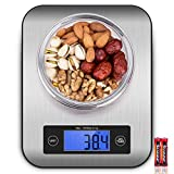 Digital Kitchen Scale Food Scales, CUSIBOX Postage Scale Stainless Steel Accuracy with LCD Display...