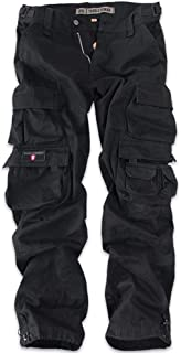 Thor Steinar Cargo Trousers Ken Military Pants Men's German Style Black