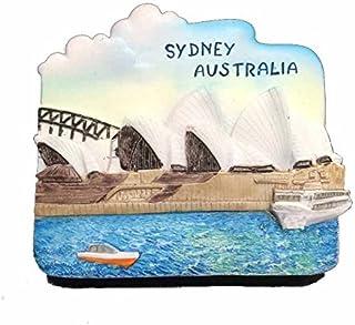Wedare Sydney Australia 3D Refrigerator Magnet Travel Souvenirs,Hand-Made Resin Home Decoration,Sydney Fridge Magnet Magnetic Sticker