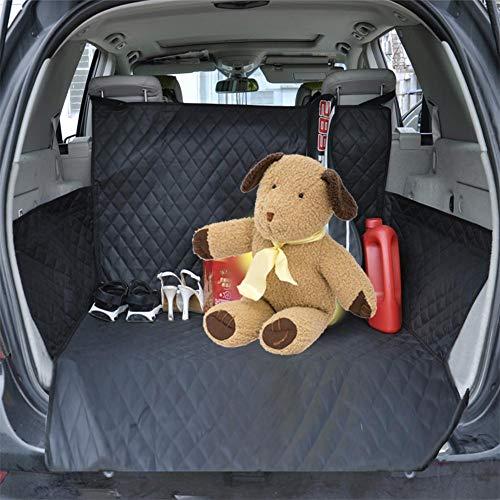 Cherishly Hund Autositzbezug & Cargo Liner Rückbank Cabrio-Zubehör in Hängemattenform für PKW, SUV, LKW und Transporter. Wasserdicht, rutschfest, Agreeable