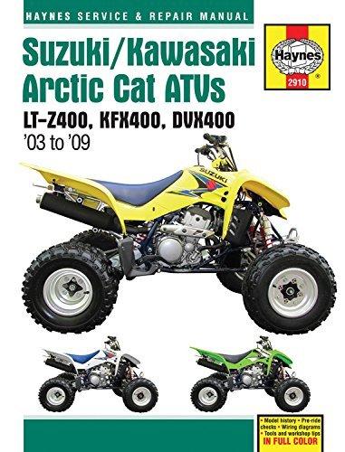 [(Suzuki/Kawasaki Arctic Cat ATV's Service and Repair Manual: 2003 to 2009)] [ By (author) Alan Ahlstrand ] [September, 2011]