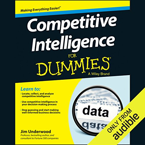 Competitive Intelligence for Dummies audiobook cover art