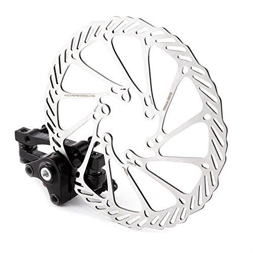 Surepromise Fahrrad Bremse Set MTB Scheibenbremse Mechanische Scheibe Bremsscheibe vorne