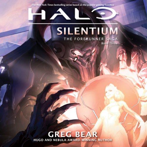 Halo: Silentium audiobook cover art