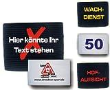 Unbekannt gummielastische Armbinde Bedruckt mit IHREM INDIVIDUELLEM Text + Logo -