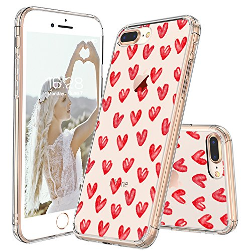 sale retailer 660fb dd91f Girly iPhone 7 Case with Heart: Amazon.com