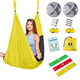 ELA Design Yoga Swing - Yoga Trapeze Home Workout Kit - Yoga...